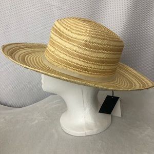 Brooks Brothers Women's Woven Straw Hat NWT